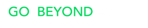 go-beyond-slogan-green-and-white